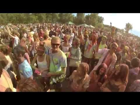 Holi Fest in Kyiv (Холи фест), Киев 2013 Hope, I'll be there next year!