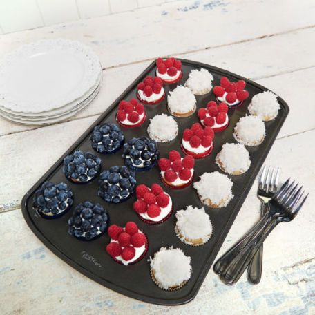 4th of july mini cupcake liners