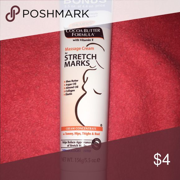 Palmer's Massage Cream for Stretch Marks Palmers Stretch Mark Cream is used to reduce the appearance of stretch marks. It has been used twice only. The formula is very smooth and smells great! Other
