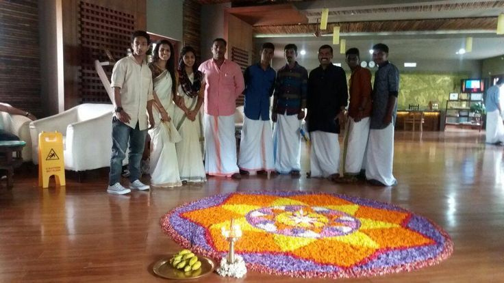 Onam celebration at Vythiri Village Resort was all the more colourful this year. Take a look at our very own Mahabali and the festivities. Come join us for a traditional Kerala sadya on September 14, 2016.  #travel #wayanad #onam #indianfestival #newyear #malayalamnewyear #onamcelebration #luxuryresort #kerala