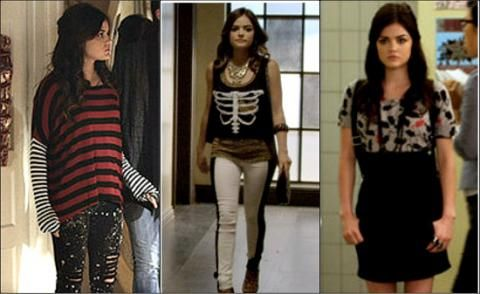 Aria's fashion outfits