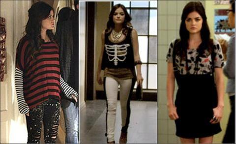 Aria's fashion outfits