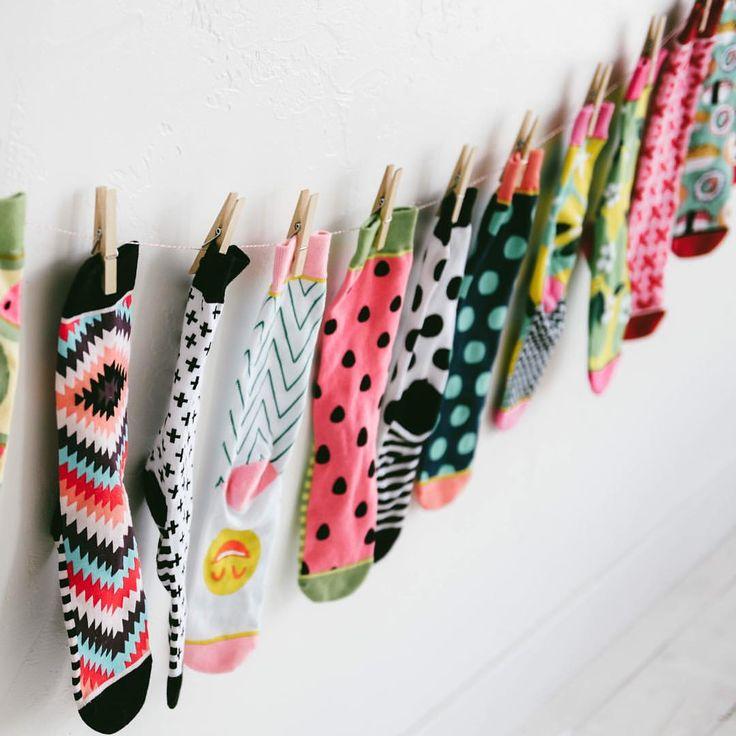 Eeeeekkkk! Woven Pear socks! #springlineishere #wovenpear