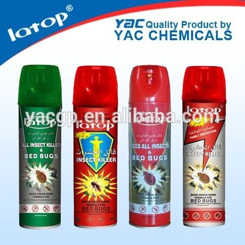 """aerosol insetctide spray for killing Cockroaches, flies, mosquitoes, bedbugs, ants,"""