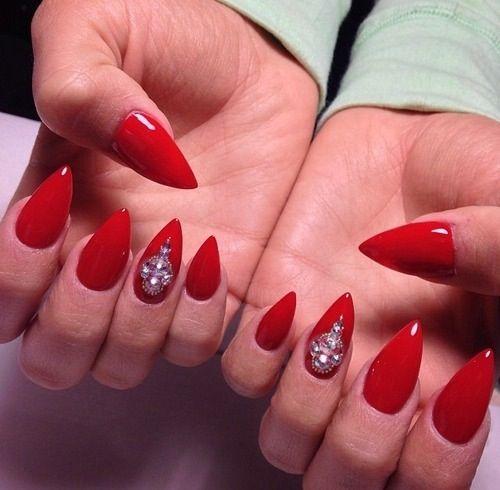 Pointed Nails Designs Tumblr | Joy Studio Design Gallery ...