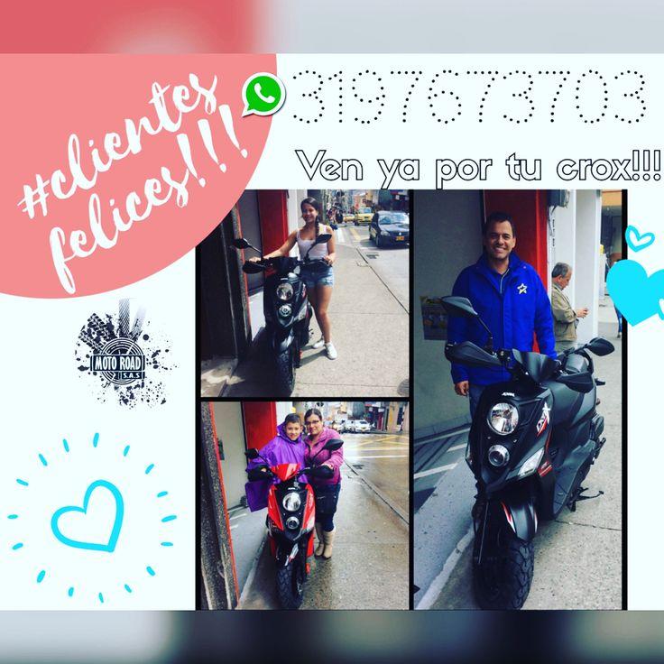 Clientes felices con su moto  crox 125 Basica Direccion: Carrera 22 #14-67 Manizales Frente a la bomba San Antonio Via Chipre , Gracias porContactarnos nuestro celular o Whatsapp :3197673703  . Te esperamos Feliz dia  #manizales #motossym #motosfinanciadas #scootermanizales #crox125 #crox125r #motocrox125