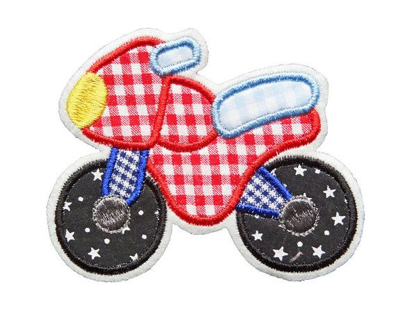 patch motorcycle applique
