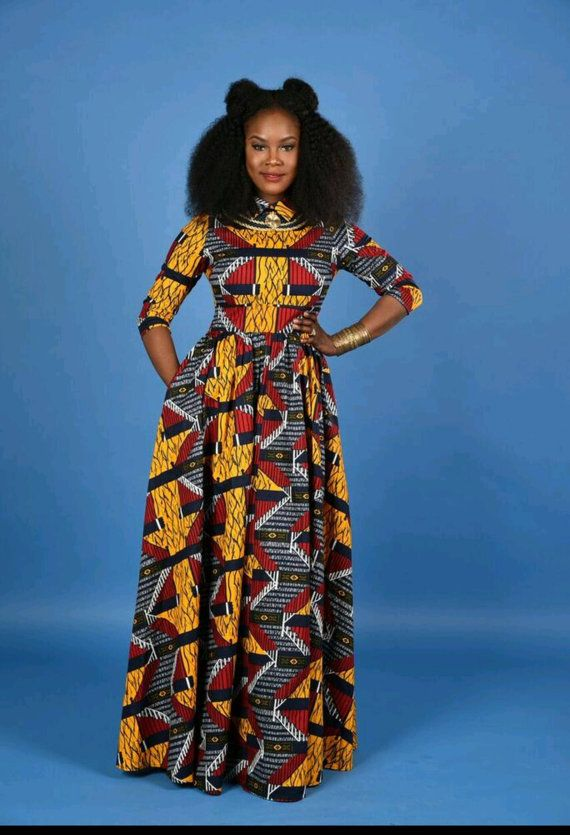 50 Best African Print Dresses Amp Where To Get Them