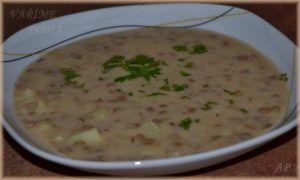 Šošovicová polievka – čočková polévka - Vaříme doma