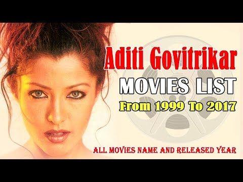 Aditi Govitrikar | Movies List | Hindi, Telugu, Malayalam
