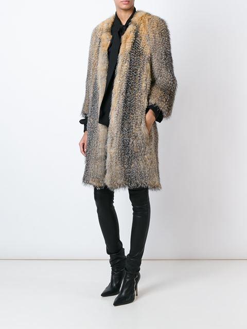 Meteo By Yves Salomon fox fur coat