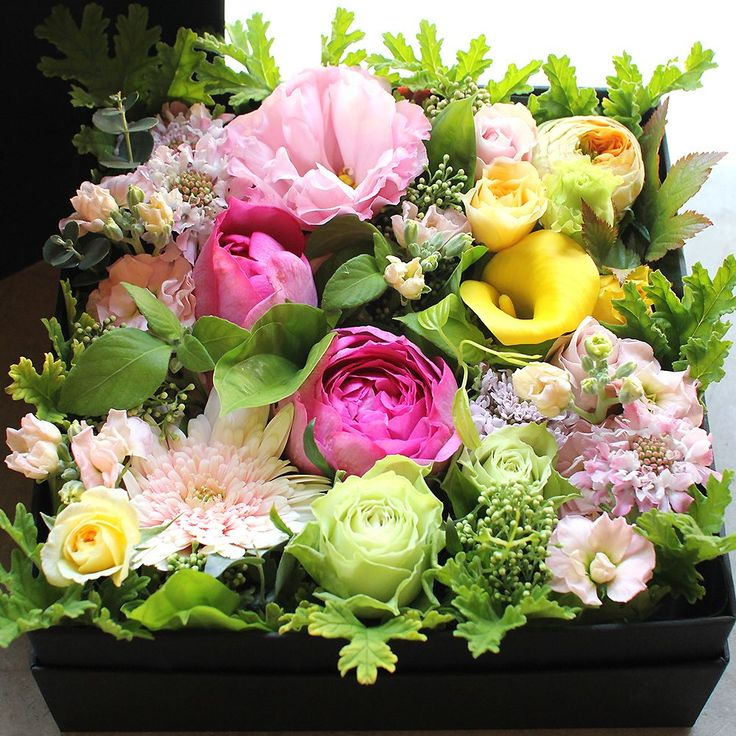 Box Flower Arrangement – K's flower novo