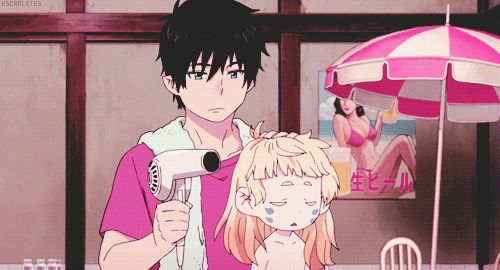 Ao no exorcist blue exorcist rin okumura Okumura Rin migif ao no exorcist movie