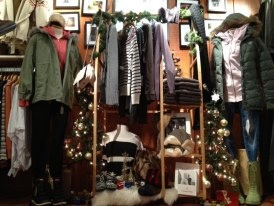 Display at the entrance to the Ladies Area in the Archies London Location. Christmas 2011