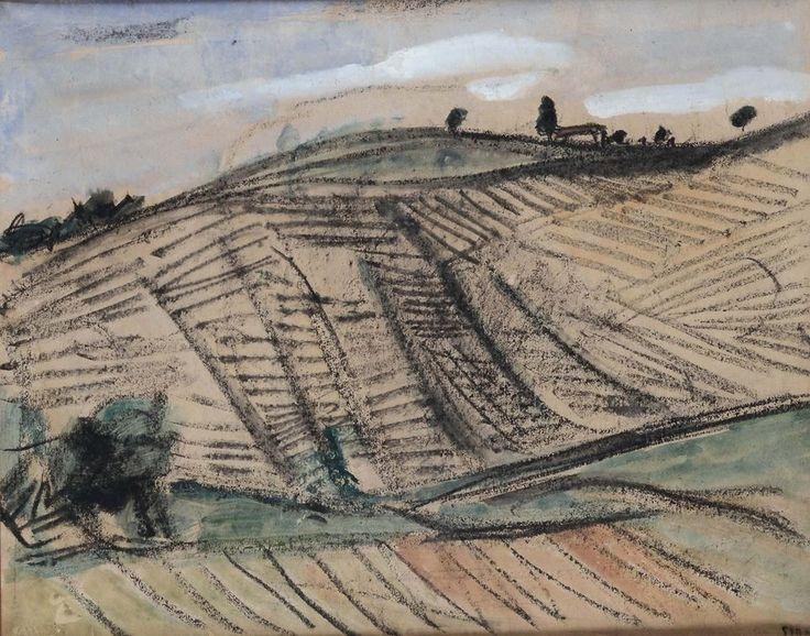 Mario Sironi (Italian, 1885-1961) - Mountain