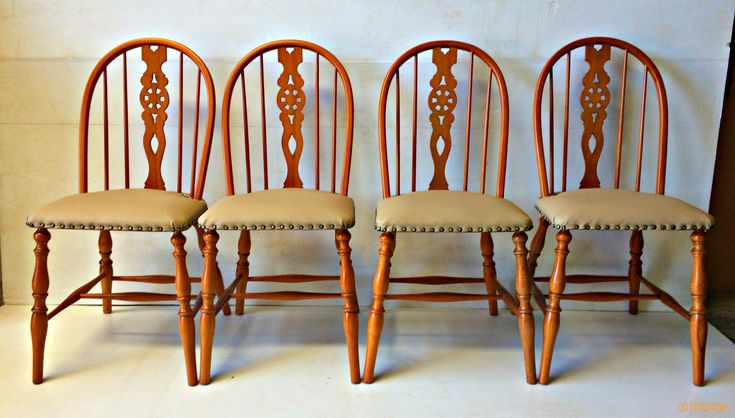 Here are Suzy's dining chairs - fully restored and looking brand new again.  http://renownedfurniture.com.au/restoration/suzys-dining-chairs/  #diningchairs #chairs #furniture #woodfurniture #restoration #furniturerepair