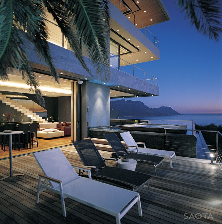 Attractive St Leon This Cool Coastal House Designed By South Africa Based Stefan  Antoni Olmesdahl Truen Architects (SAOTA) Is Located In The Stunning  Waterfront ... Home Design Ideas