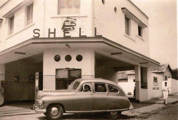 Antigos Verde Amarelo: Posto de gasolina