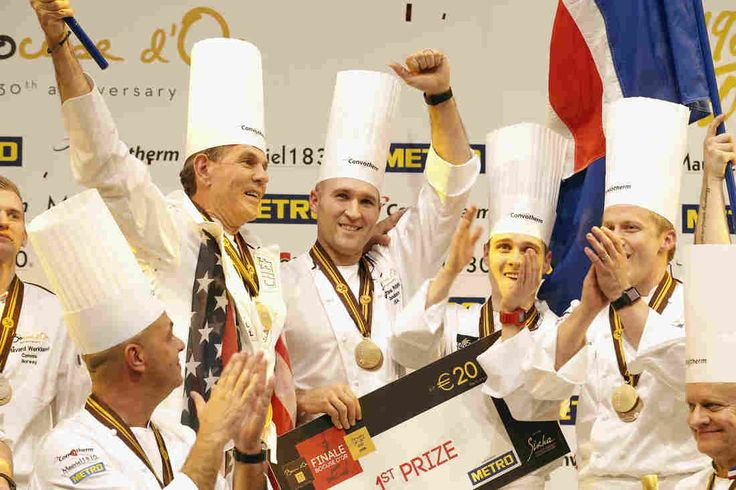 "Quick & Easy Food Recipes at Hifow.com                          U.S. chef Mathew Peters (centre), celebrates on the podium with teammates just after successful the ""Bocuse d'Or"" trophy, in Lyon.                                      Laurent Cipriani/AP                          ..."