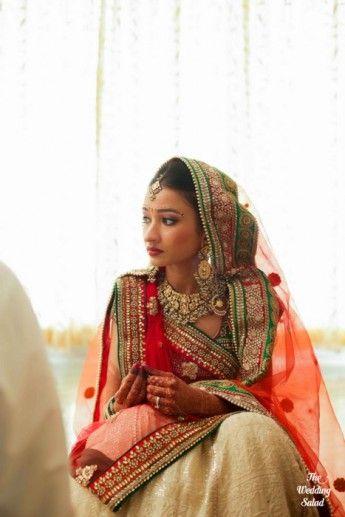 Gujarati wedding- Modern spin on the panetar