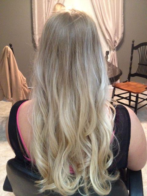 12 best images about blond ombre on pinterest blonde. Black Bedroom Furniture Sets. Home Design Ideas