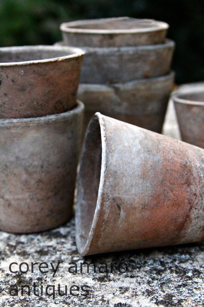 French clay pots
