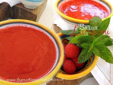 Salsa di Lamponi - Raspberry sauce