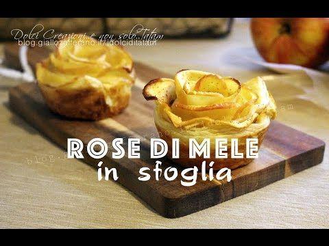 Rose di mele in sfoglia, ricetta facile con video tutorial