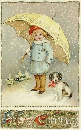 This link has the most adorable Vintage Christmas Postcards.  (@Pam Donnelly~ doesn't this remind you of us when we were young?)Vicki Setzer