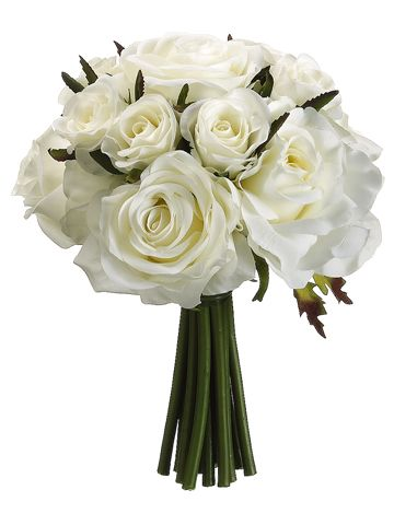 Cute wedding bouquets (bride and bridesmaids) that are inexpensive!!