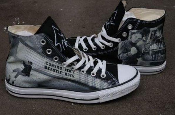 I wantz!!!! Photographer Sunny Bak Sells Limited Beastie Boys Converse Kicks On eBay - BallerStatus.com