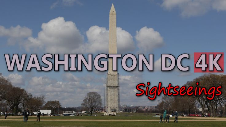 Ultra HD 4K Washington DC Travel Attraction Landmarks Sightseeing Top Sights UHD Video Stock Footage