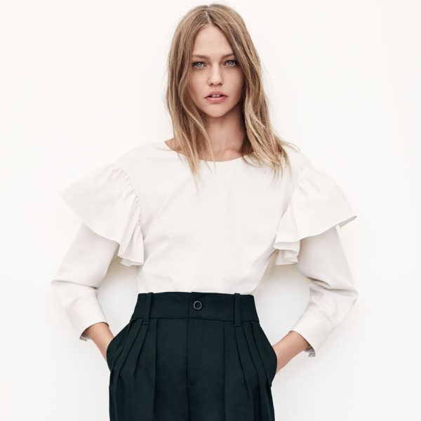 FAST FASHION COMPANY, ZARA SLOWS IT DOWN WITH A NEW SUSTAINABLE COLLECTION.