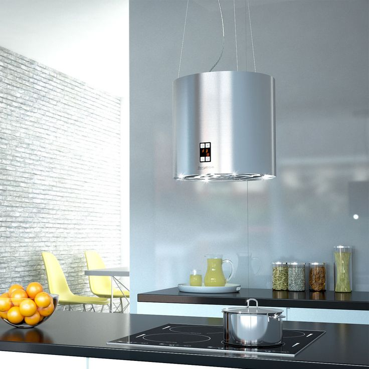 Bergstroem Design Extractor Cooker Hood Island Hood Stainless Steel Ceilin