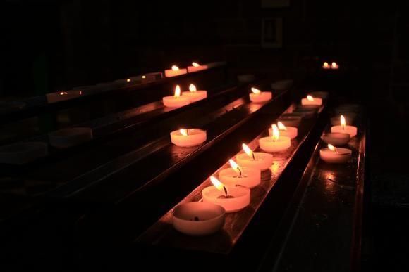 A candle lit, a prayer said
