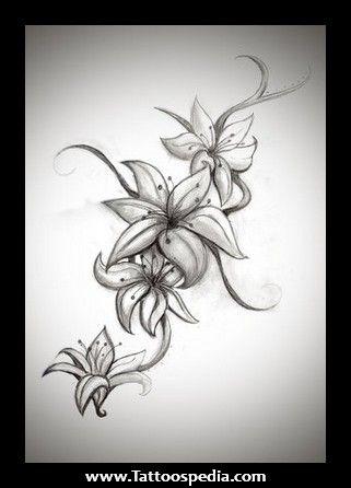 Lily my next tattoo down my side!