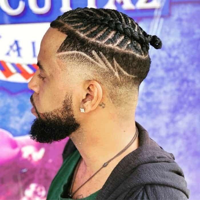 17++ Drop fade braids inspirations