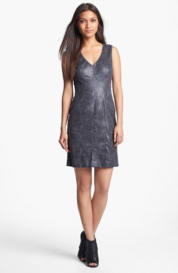 Vince Camuto Seamed Faux Leather Sheath Dress available at #Nordstrom