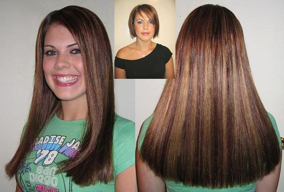 Even short short hair can look amazing with a good blend and color even short short hair can look amazing with a good blend and color match could you tell she has extensions on love it photo shoot stuff pinterest pmusecretfo Choice Image