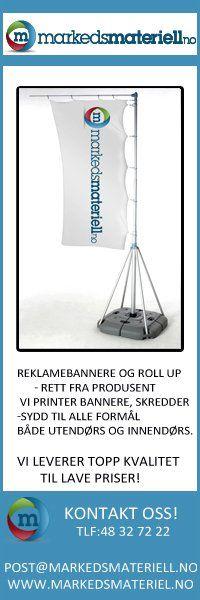 Velkommen til Markedsmateriell - Din totalleverandør av alt innen markedsmateriell rollup, markeds markedsmateriell, roll-up, beachflagg, messevegg, Banner, reklameseil og fasadeseil, messevegger, rollups, roll-ups, beachflagg, beach banner, square beachflagg, Grafisk design over hele Norge-norway -  markedsmateriell.no http://www.markedsmateriell.no/