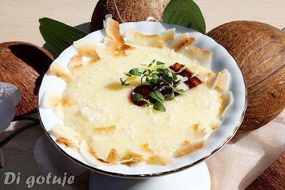 Di gotuje: Kokosowo-waniliowy deser z budyniu