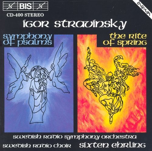 Stravinsky: Symphony of Psalms / The Rite of Spring - BIS CD. £15.95