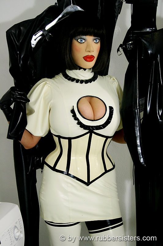 Latex heavy rubber tv roleplay 3
