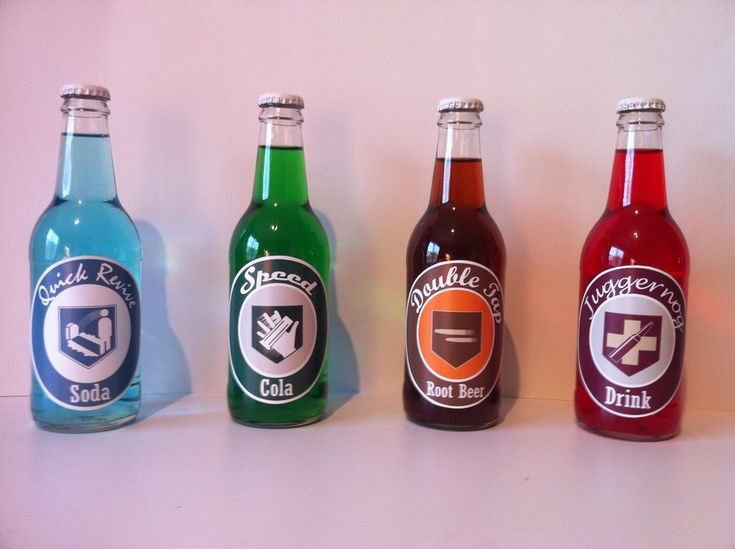 Perk-A-Cola Bottles by TBoneCaputo on DeviantArt