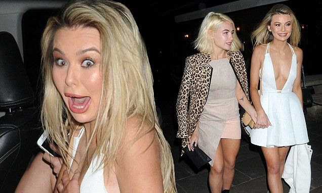 MIC's Georgia Toffolo & Jess Woodley look worse for wear at wrap party