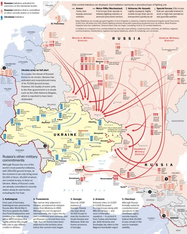 On The Edge Of War: The Latest Russian And Ukraine Troop Movements | Tyler Durden, May 2, 2014, Zero Hedge: