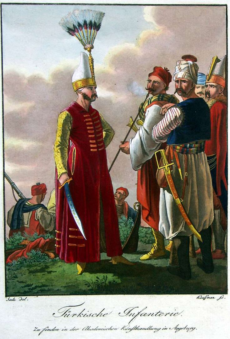 Turkish infantry. 1802-1810: Ottoman.