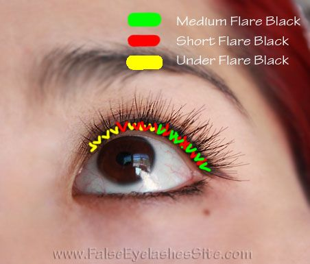 how to apply eyelash extensions (individual flare lashes)