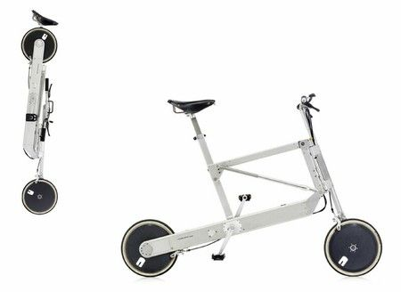 richard sapper 1998 Sapper Zoom Bike.very innovative folding bike. weather sealed drivetrain, folding mechanism similar to an umbrella, dyno and battery for front and rear lights, etc.
