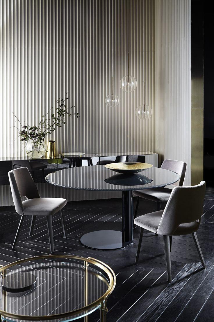 Cadeira estofada de madeira THEA by Gallotti&Radice design Pinuccio Borgonovo